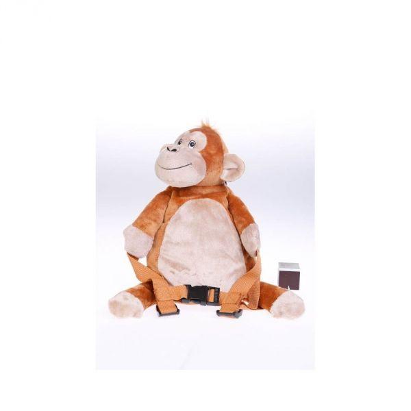 Rucksack mit Sicherheitsleine Affe